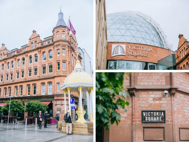 Victoria Square Belfast Irlande
