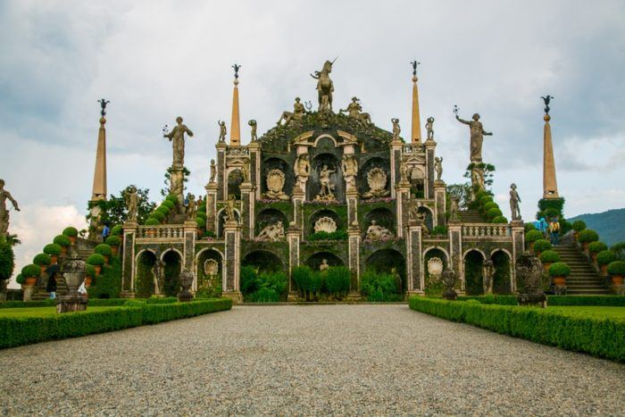 jardin italienne lac majeur