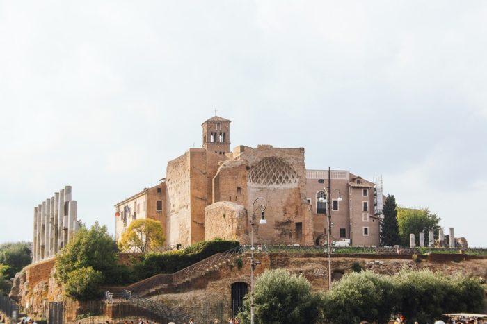 visiter palatin rome
