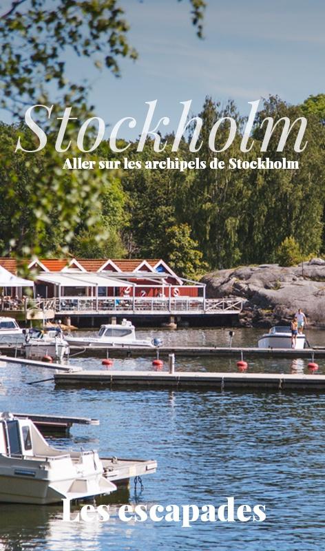 Aller sur les archipels de Stockholm