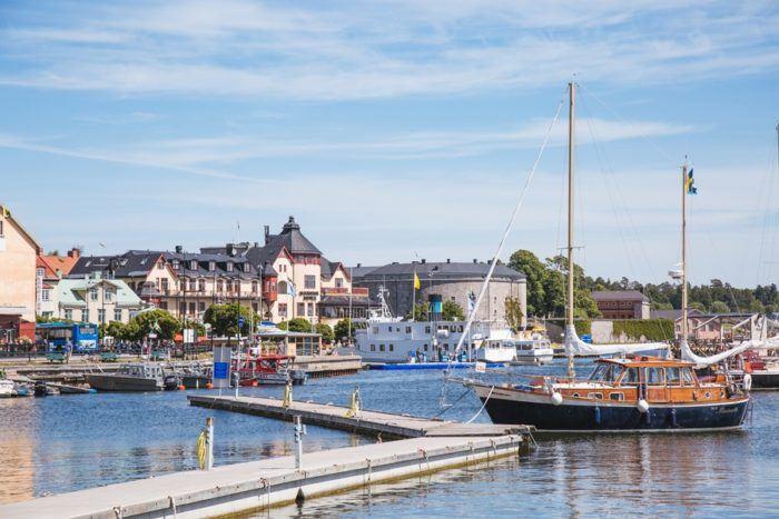 L'archipel de Stockholm et ses bateaux