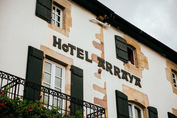 L'Hôtel Arraya à Sare