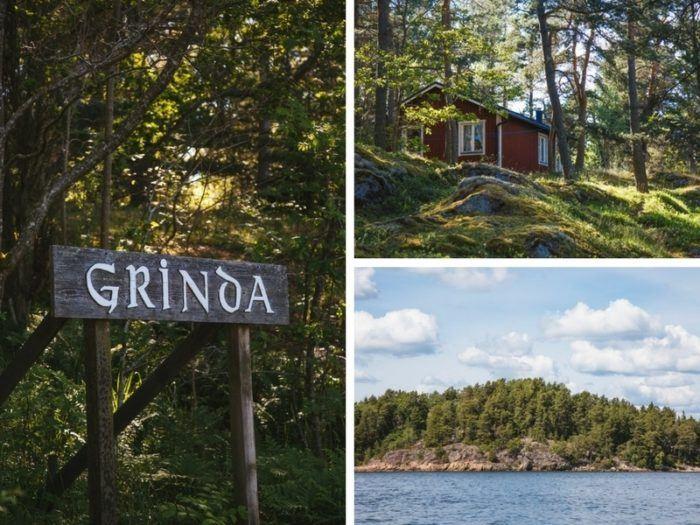 Les paysages naturels de l'île de Grinda