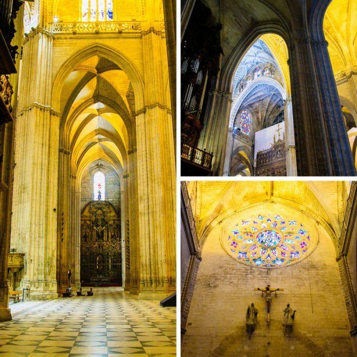 L'intérieur de la Cathédrale de Séville