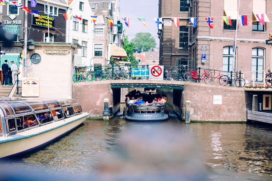 Balade bateau Amsterdam