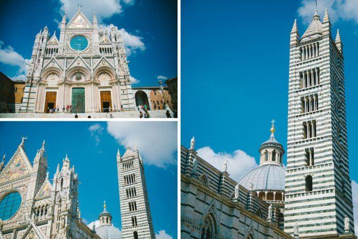 Le Duomo de Sienne sous tous les angles