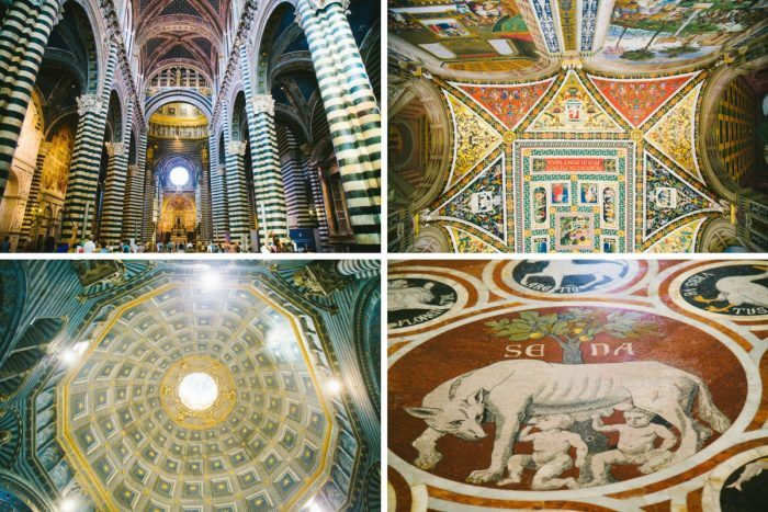 Le superbe intérieur du Duomo de Sienne