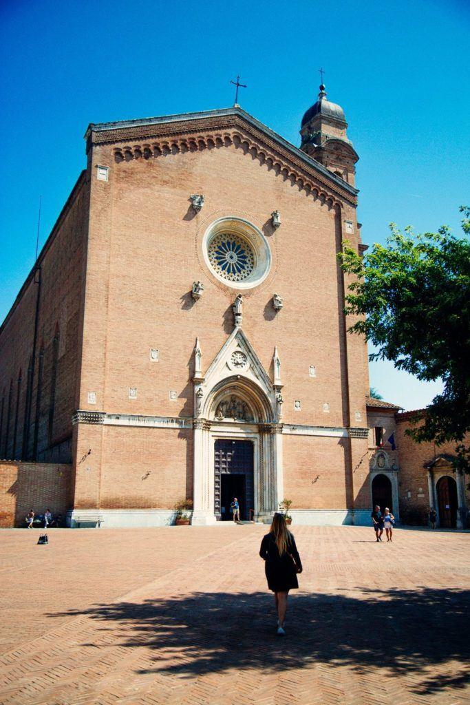 La basilique Saint-François à Sienne