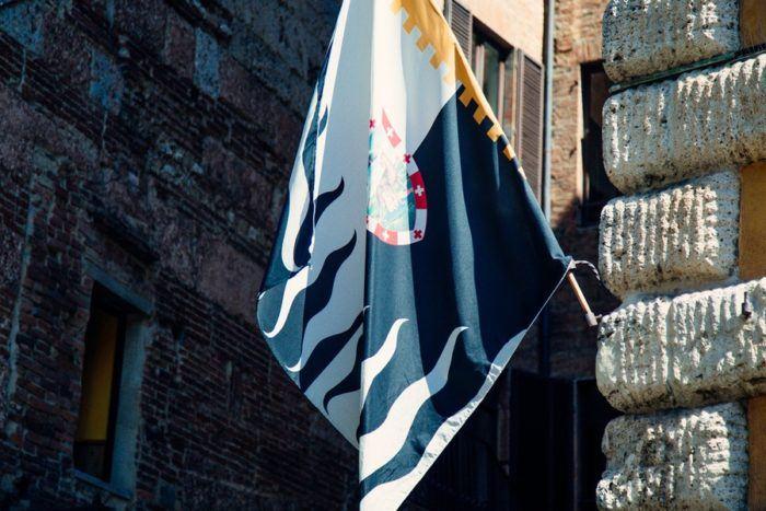 Le drapeau de Sienne