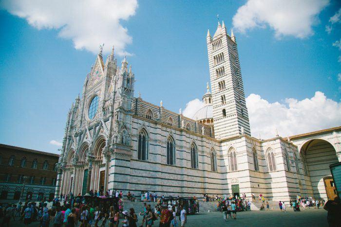 Le majestueux Duomo de Sienne