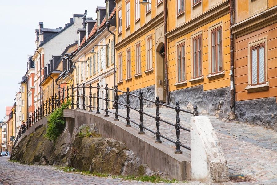 Quartier Södermalm à Stockholm