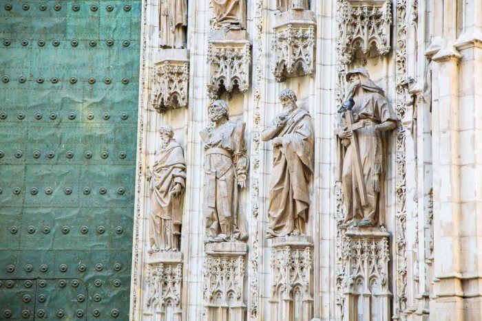 Façade de la Cathédrale de Séville