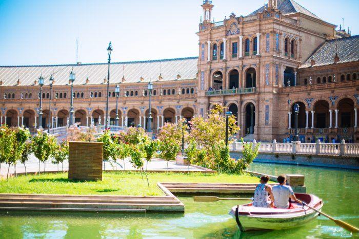 Les barques de la Plaza de España