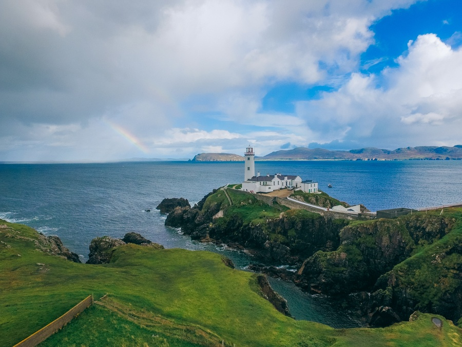 Phare de Fanad Head, Wild Atlantic Way