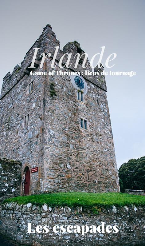 Game of Thrones, lieux de tournage Irlande
