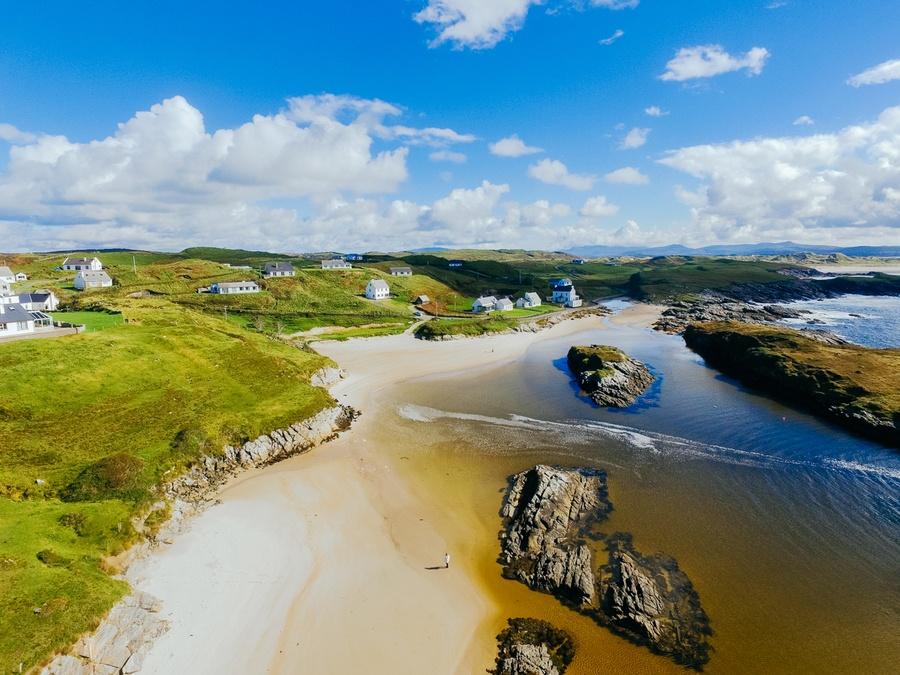 Les plages de Rossbeg, Irlande