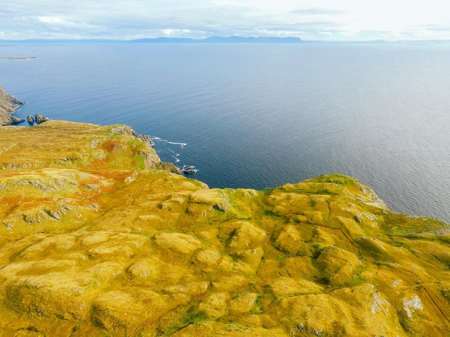 Les falaises de Slieve League en Irlande