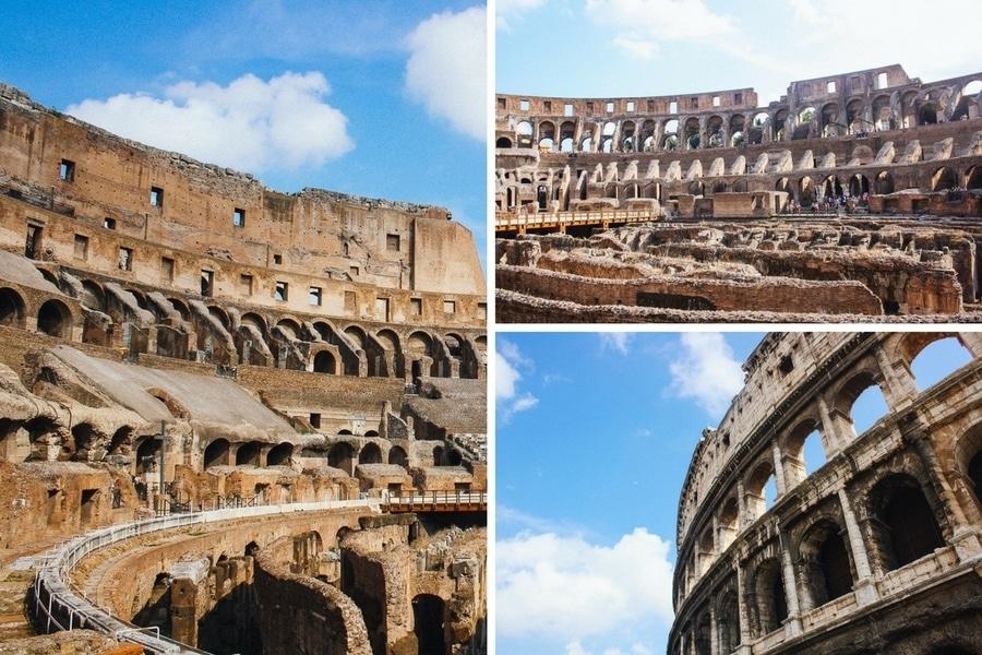 La visite du Colisée à Rome
