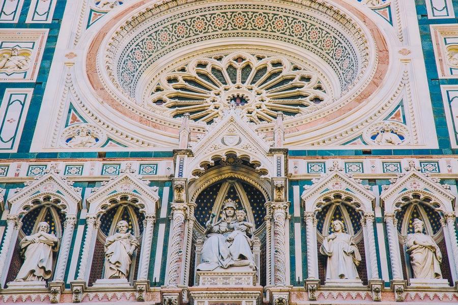 Détails du Duomo de Florence