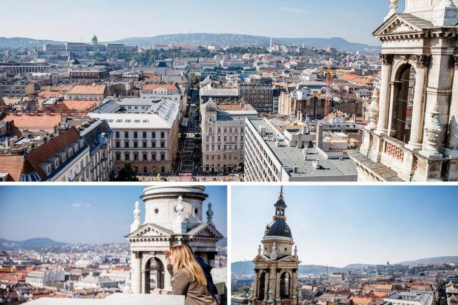 Vue sur Budapest depuis la Basilique Saint-Etienne