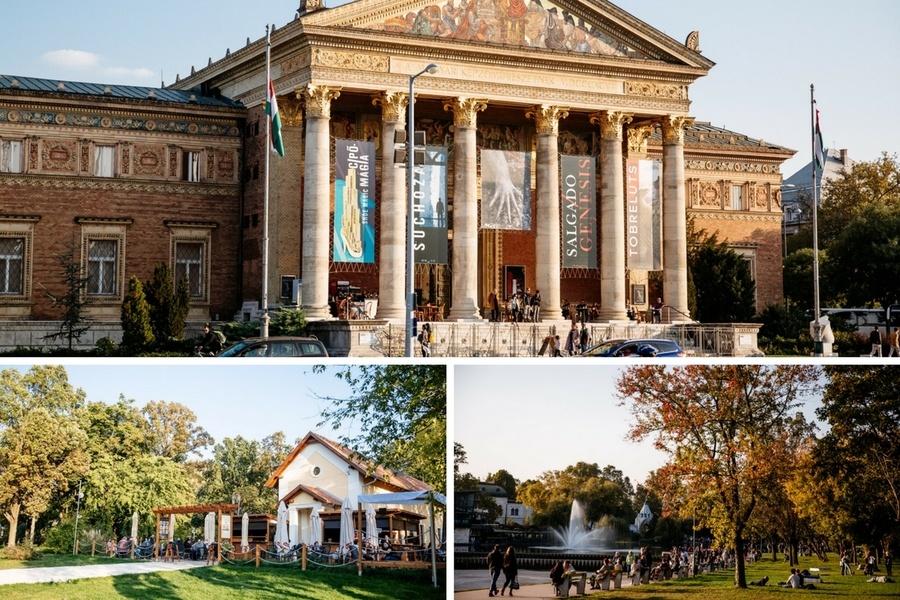 Visiter le Parc Varosliget à Budapest