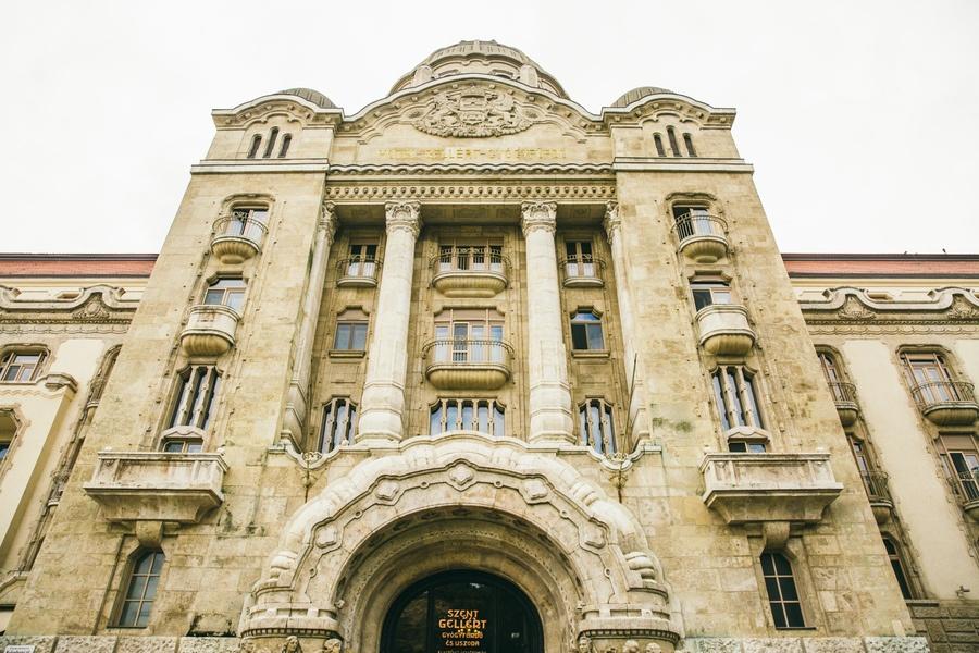 Les Bains Géllert à Budapest