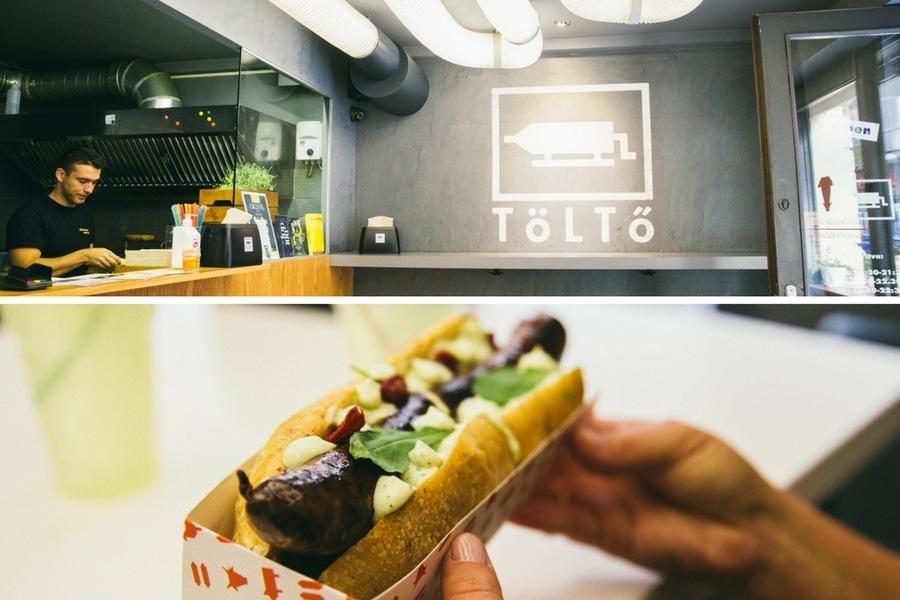 Tolto restaurant Budapest