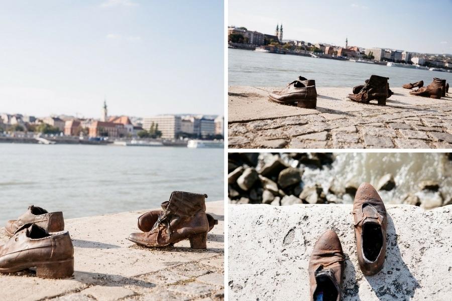 chaussures et mémorial juif de Budapest