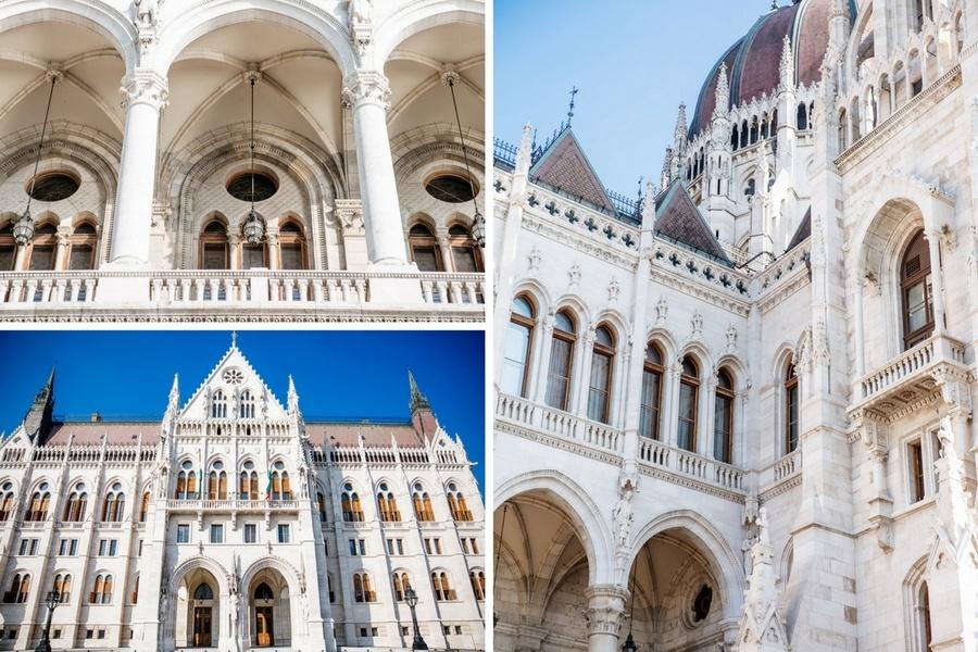 Détails Parlement de Budapest