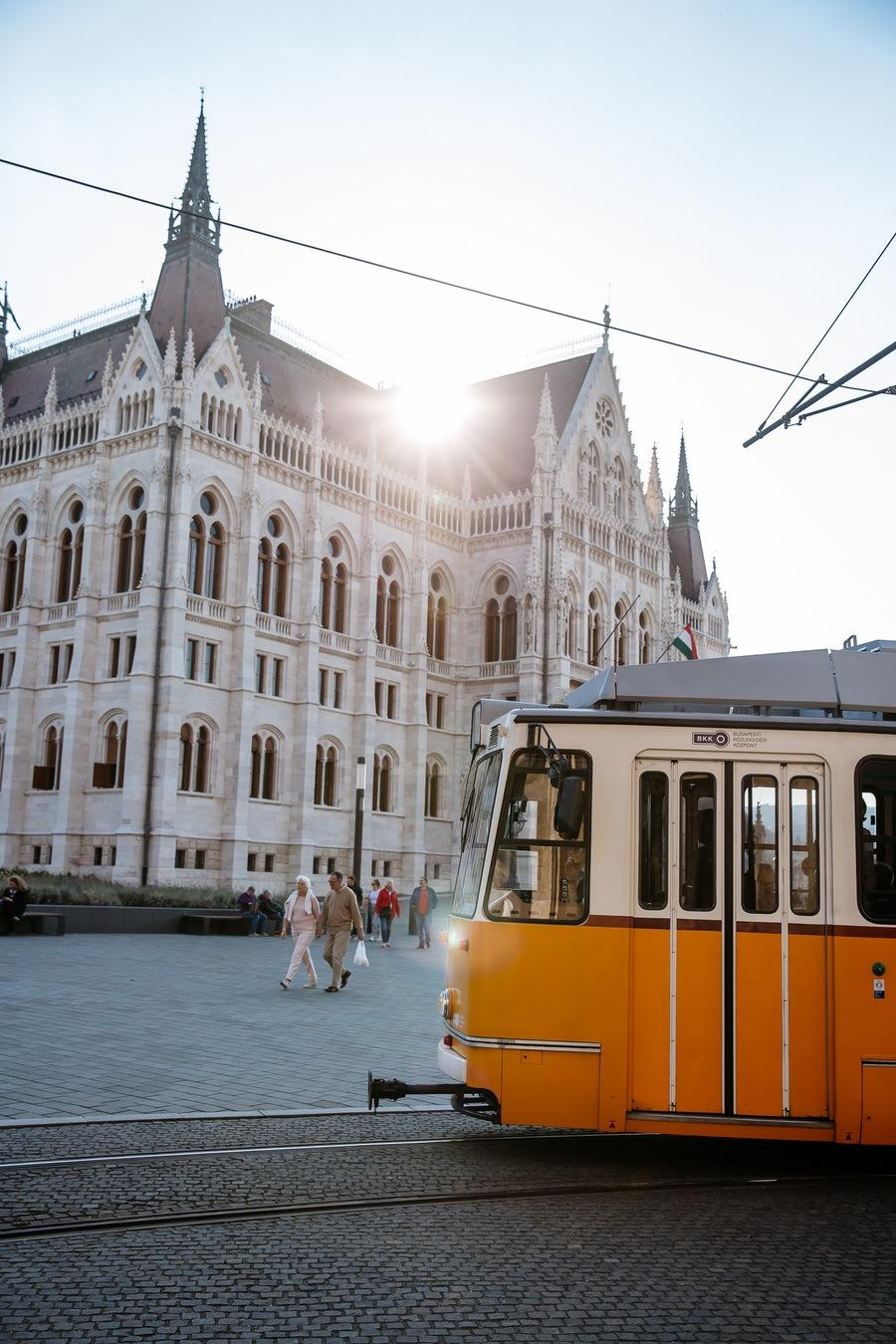 Visiter le Parlement Hongrois