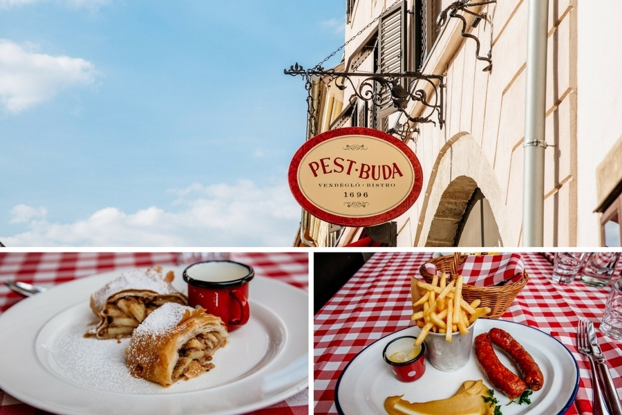 Restaurant Pest Buda Budapest