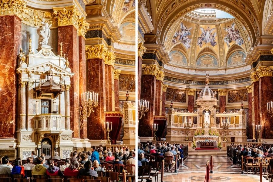 Autel Basilique Saint Etienne de Budapest