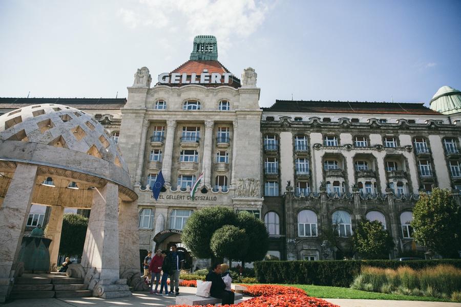 Hôtel Bains Gellert Budapest