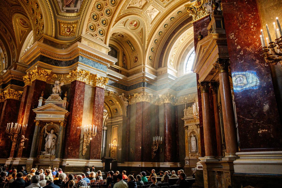 Basilique Saint Etienne de Budapest