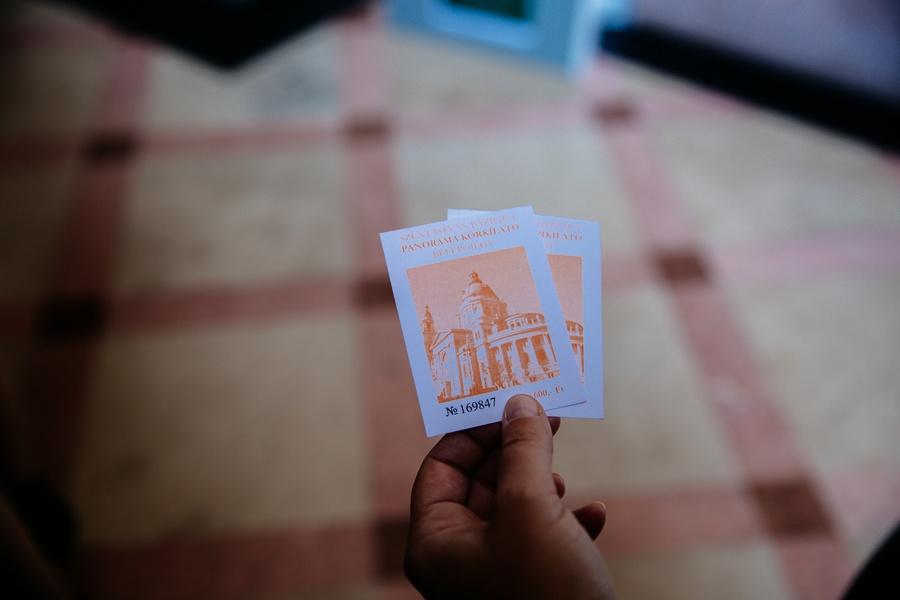 Tickets pour la terrasse de la Basilique Saint Etienne de Budapest