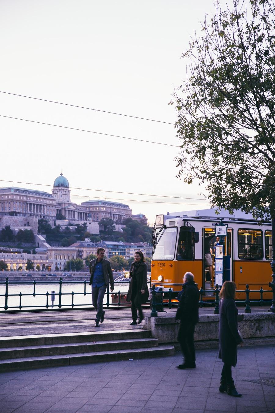 Les rues de Budapest