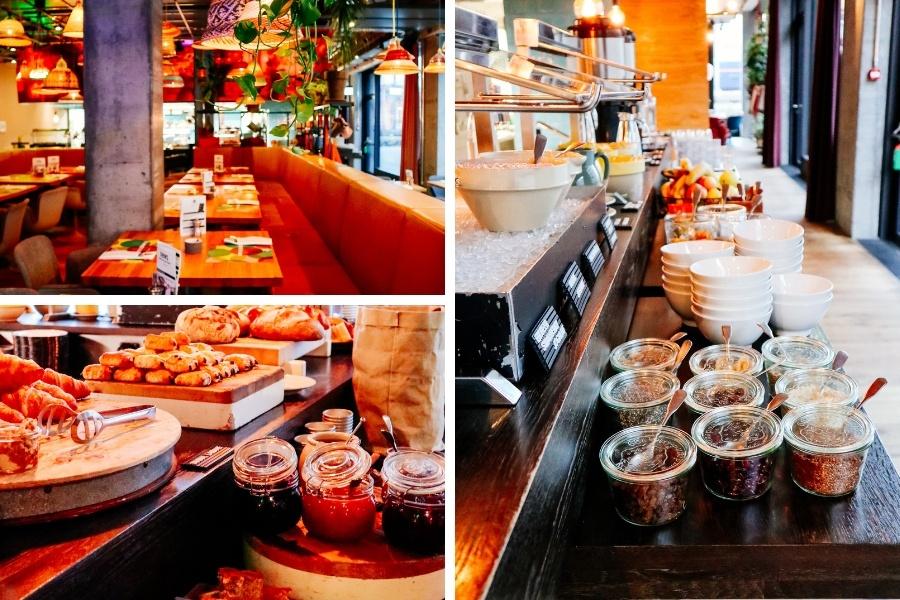 Petit déjeuner hôtel 25 Hours Langstrasse Zurich