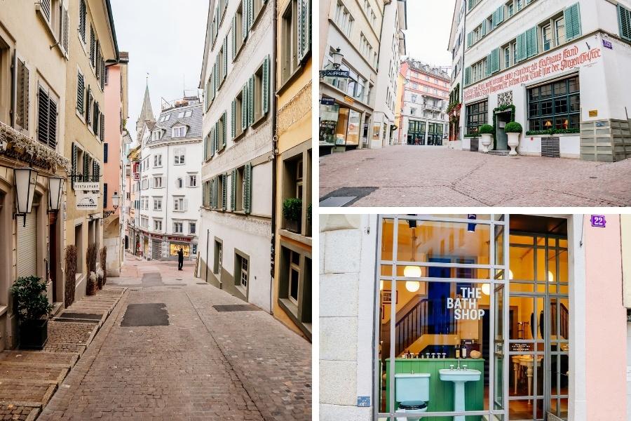 Quartier Schipfe visiter Zurich