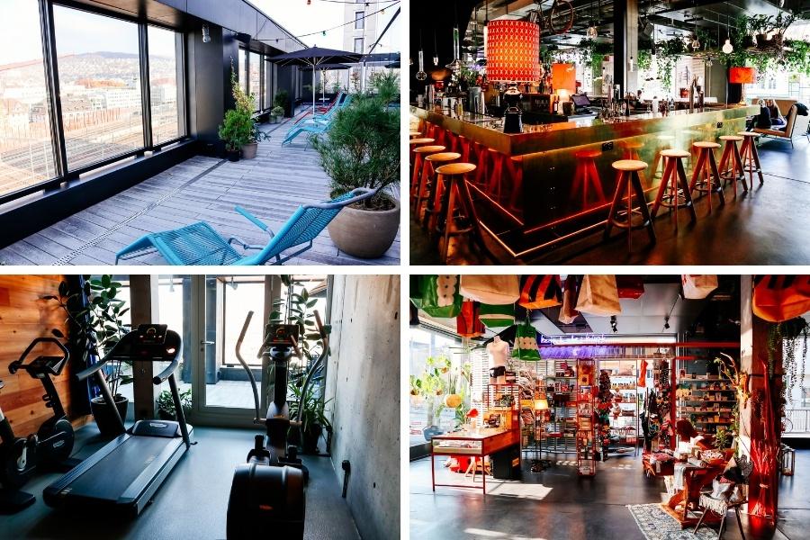 Espaces hotel 25 hours Zurich