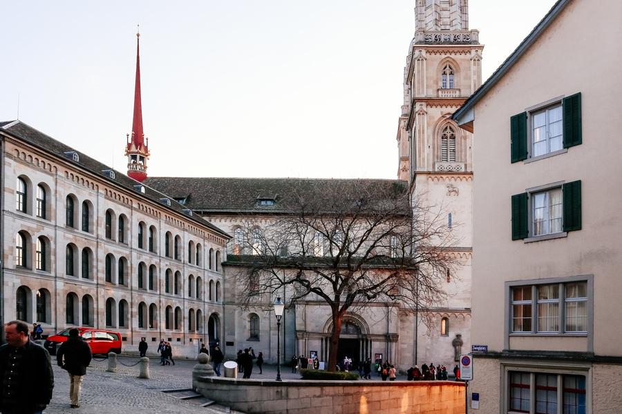 Grossmunster extérieur visiter Zurich