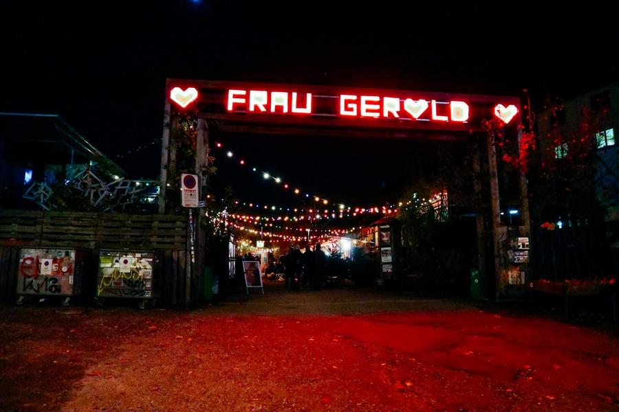 Restaurant Frau Gerolds Garten Zurich