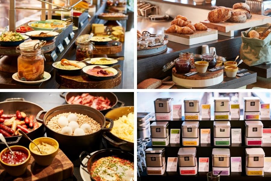 Petit déjeuner hotel 25 hours Zurich