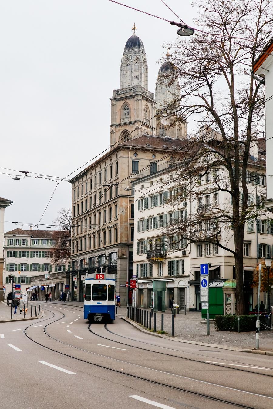 tramway zurich