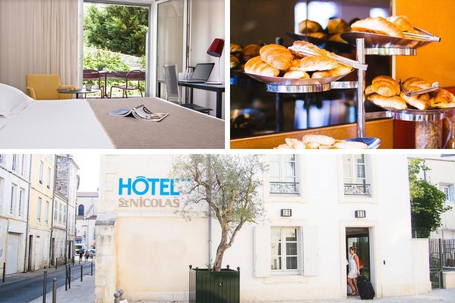 Week-end à l'Hotel Saint Nicolas La Rochelle