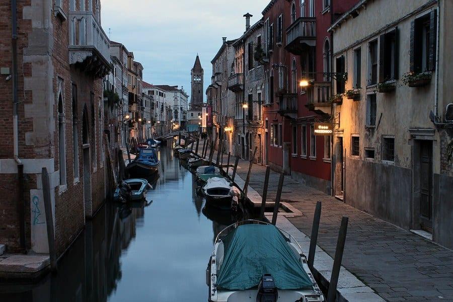 Quartier Dorsoduro Venise