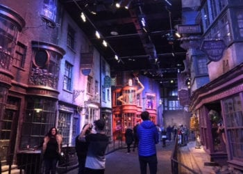 Chemin de Traverse Studio Harry Potter