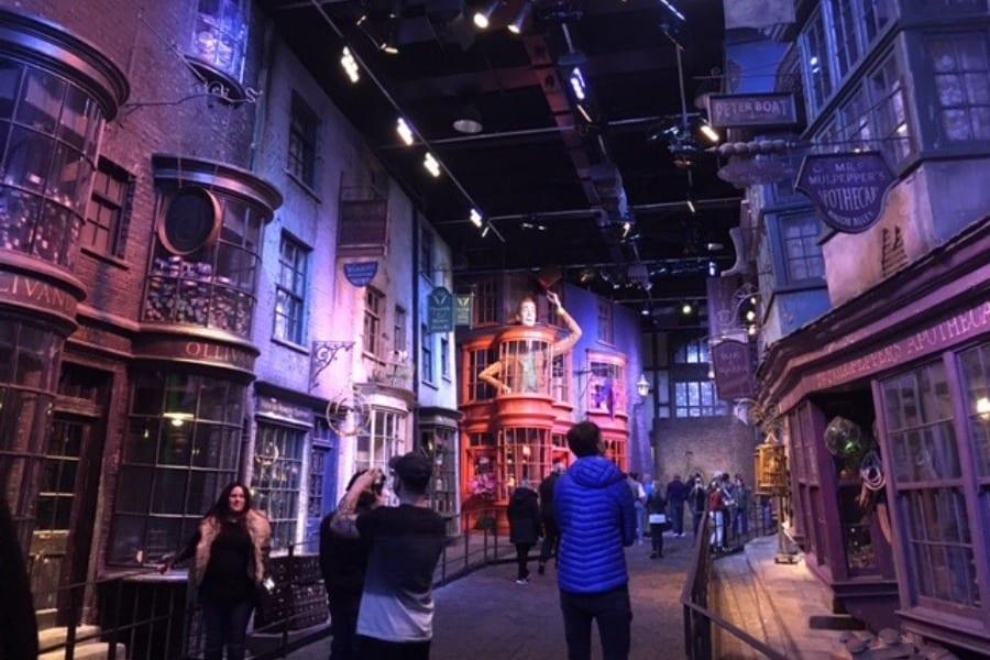 Chemin de Traverse Studio Harry Potter
