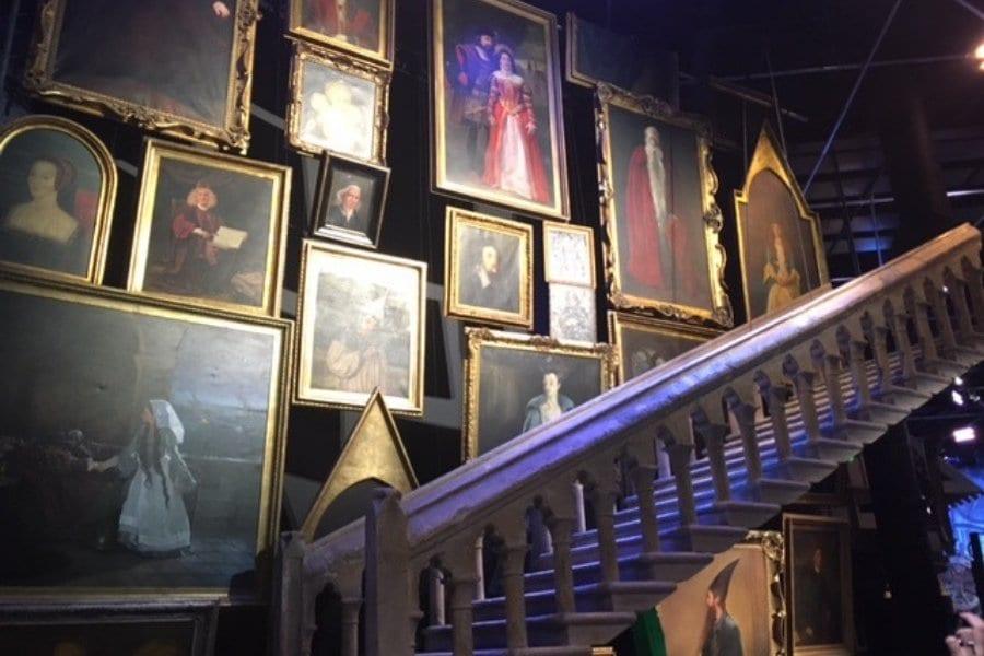 Escaliers Studio Harry Potter