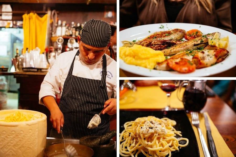 Restaurant Paradise Perduto Venise