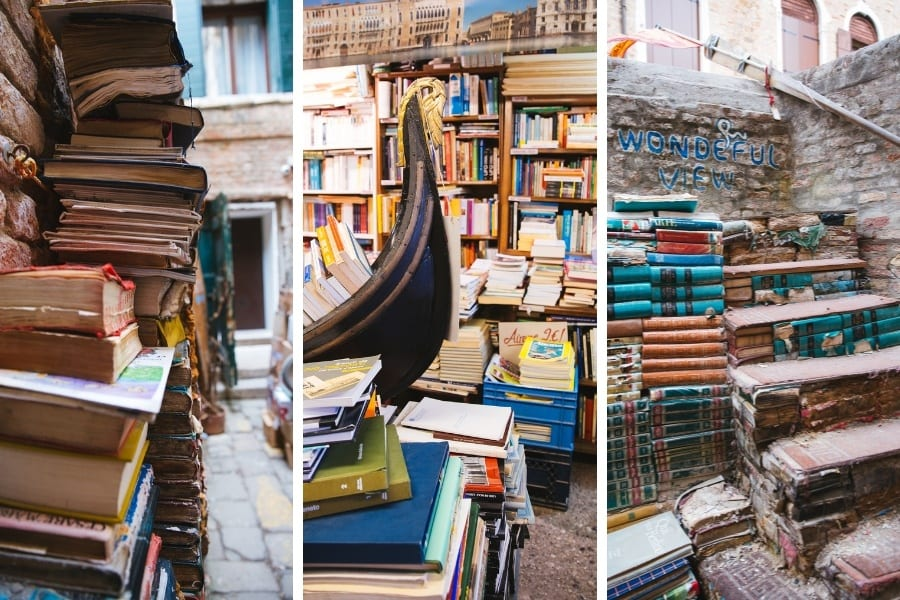 Visiter la librairie Acqua Alta Venise